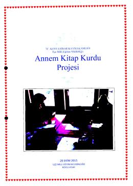 Annem Kitap Kurdu