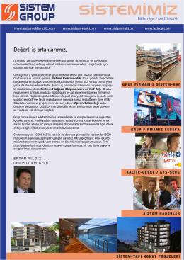 Ağustos 2015 - Sistem Reklamcılık