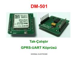 DM-501 - Desimal Elektronik