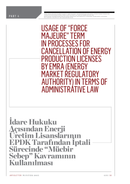 energy market regulatory