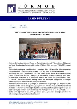 Akdeniz Üniversitesi, Alanya Ticaret ve Sanayi Odası MYO