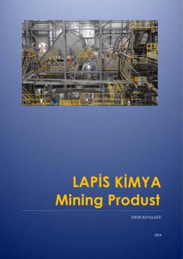 Maden Kimyasalları Teknik Föyü