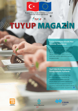 TUYUP MAGAZİN - TC Kültür ve Turizm Bakanlığı