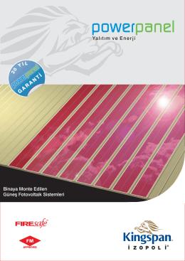 Kingspan-İzopoli Solar Enerji Çözümleri