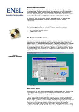 SoftWare (Haberleşme Yazılımları)