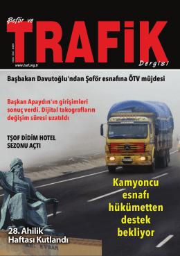 662 kapak.indd - Türkiye Şoförler ve Otomobilciler Federasyonu
