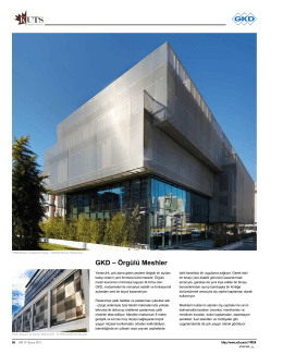 Raf Dergisi - 2015 Kasım Sayısı