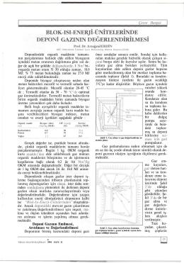 blok-ısı-enerjı-ünıtelerınde deponi gazının değerlendirilmesi