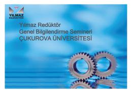 buradan - Çukurova Üniversitesi