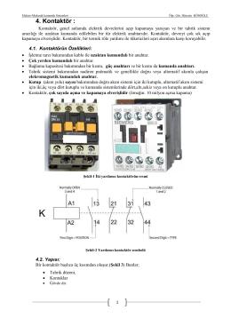 Elektro-Mekanik Kumanda Sistemleri Ders Notu-3