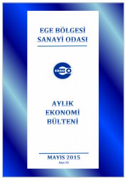 Mayıs 2015 - Ege Bölgesi Sanayi Odası