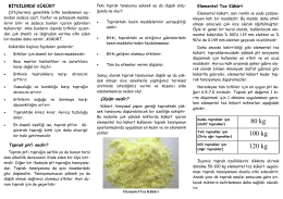 toz kükürt kullanımı ve önemi - Çorum İl Gıda Tarım ve Hayvancılık