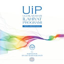 UİP 2015 PDF - Öğretim yılı UİP Programı Başvuru Formu