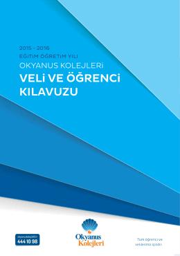 2015-2016 Öğrenci ve Veli Kılavuzu