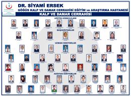 Dr. Siyami Ersek Göğüs Kalp ve Damar Cerrahisi Eğitim ve Araştırma