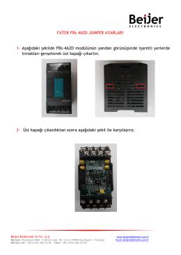 4A2D jumper - Beijer Elektronik