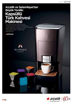 Kapsüllü Türk Kahvesi Makinesi