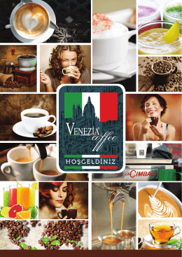 E-Katalog - Venezia Kahve