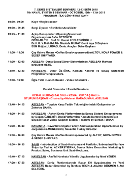 program - Naval Systems Seminar