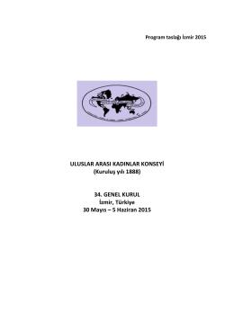 evgili BPW Türkiye Ailesi, - Türk Kadınlar Konseyi Derneği