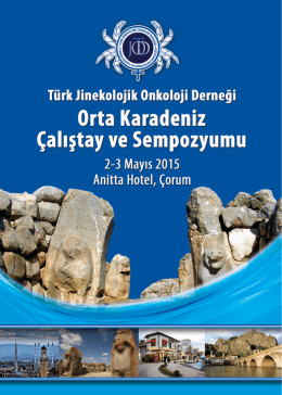 Orta Karadeniz Çalıştay ve Sempozyumu