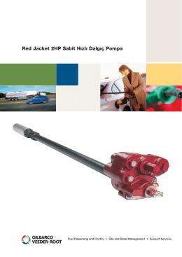 Red Jacket 2HP Sabit Hızlı Dalgıç Pompa