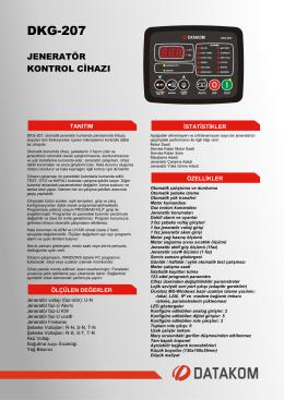 DKG-207 - Datakom