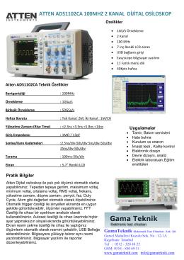 atten ads1102ca 100mhz 2 kanal dijital osiloskop