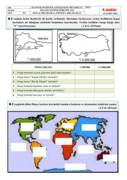 """2 Hangi harita """"Küçük Öl"""