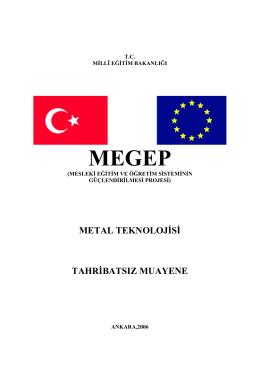 metal teknolojisi tahribatsız muayene