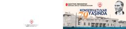 Ankara Devlet Konservatuvarı 79 Yaşında