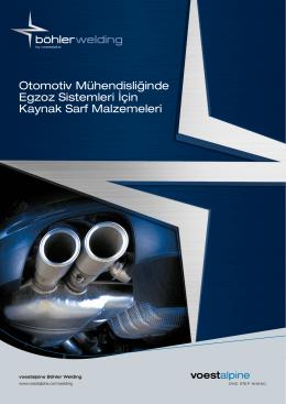 Otomotiv Mühendisliğinde Egzoz Sistemleri İçin