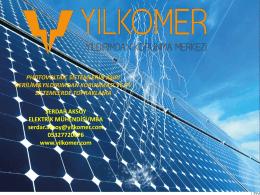 photovoltaic sistemlerin aşırı gerilim&yıldırımdan korunması ve pv