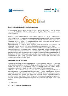 v Enerji sektörünün kalbi İstanbul`da atacak ()