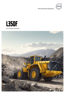 Broşür L350F  - Volvo Construction Equipment