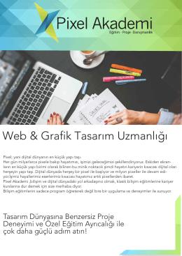 Web & Grafik Tasarım Uzmanlığı