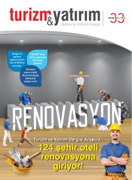 124 şehir oteli renovasyona giriyor!