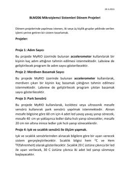 Proje 1 - FSMVU | Musa AYDIN