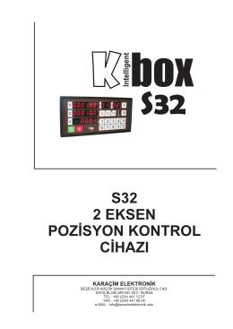 S32 Türkçe Kullanım Kılavuzu