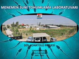 Döl Kontrolü-Menemen - Türkiye Damızlık Sığır Yetiştiricileri Merkez