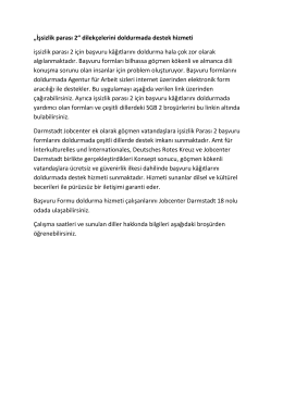 İşsizlik parası 2 - Jobcenter Darmstadt