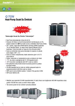 Heat-Pump Sıcak Su Üreticisi