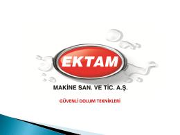 Ektam Sunumu