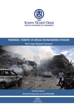 terörün, türkiye ve bölge ekonomisine etkileri