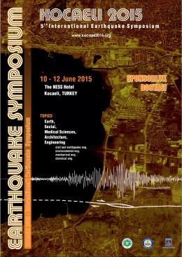 B - Kocaeli 2015 5. Uluslararası Deprem Sempozyumu