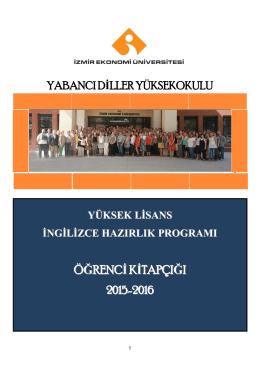 Yükseklisans Hazırlık Programı