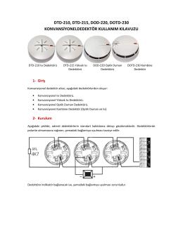 DXD-2XX Kurulum ve Kullanım Kılavuzu
