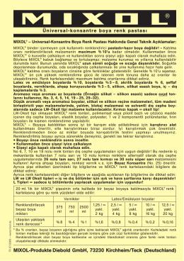 MIXOL-Produkte Diebold GmbH, 73230 Kirchheim/Teck (Deutschland)