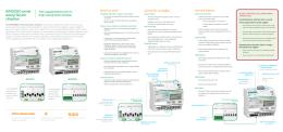 iEM3000 serisi enerji ölçüm cihazları