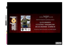Uluslar arası Fotograf yarışmaları, BURAK ŞENBAK Sunumu . pdf
